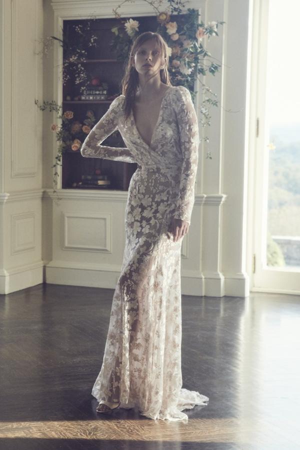 Vestidos de novia para bodas en invierno
