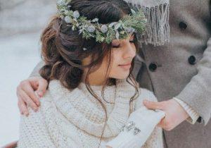 complementos de novia para bodas en invierno
