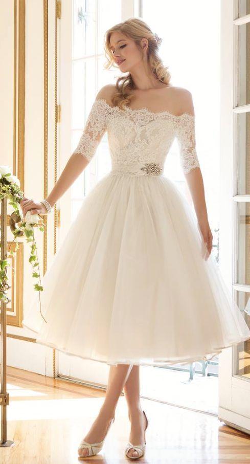 93179871 Vestidos de novia para una boda civil - Finca La Alcudia