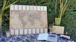 identificadores de mesa para bodas