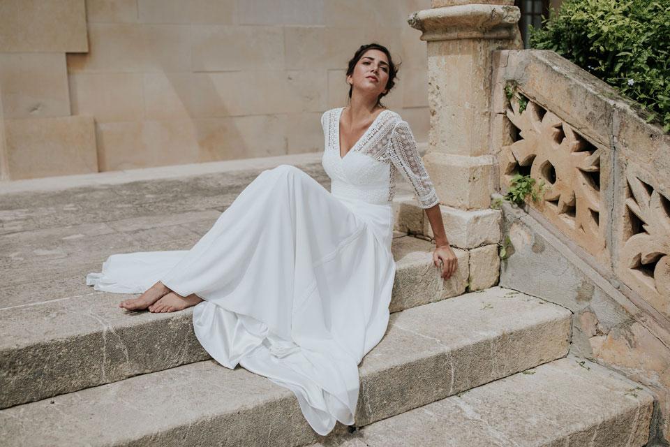 tipos de blanco para vestidos