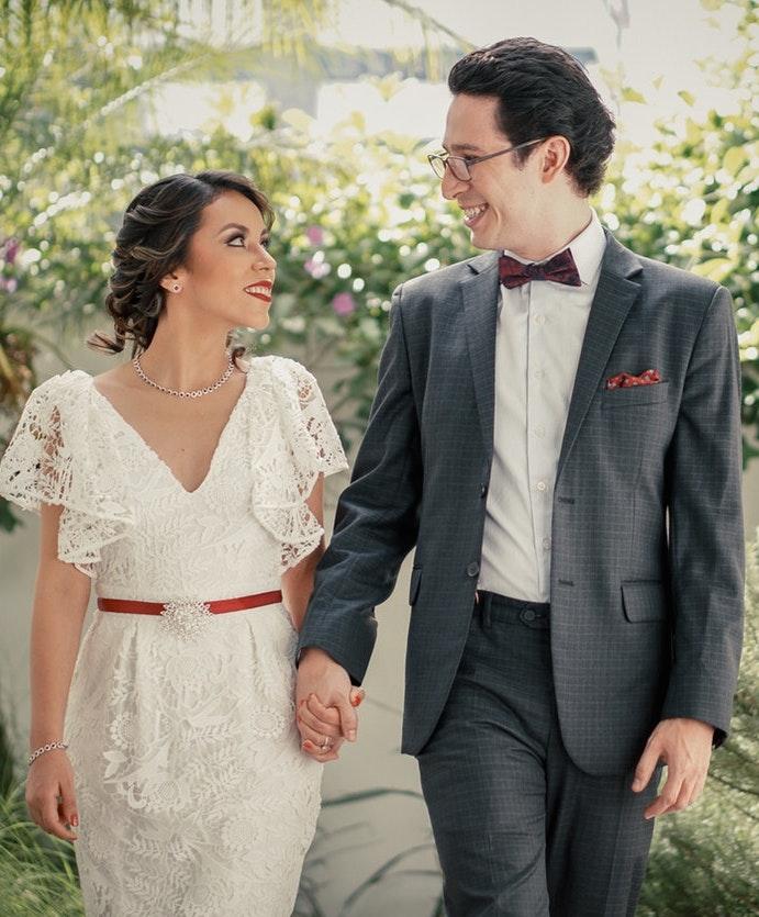 Trajes de novio para boda civil