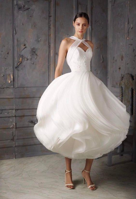 Ideas para un segundo vestido de novia