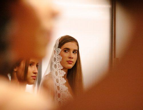El uso de la mantilla en las bodas