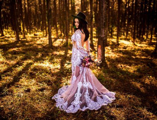 Vestidos de novia con color, ¡sí, quiero!